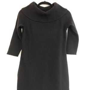 Ann Taylor Black sweater dress
